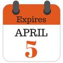 Expires April 5, 2019
